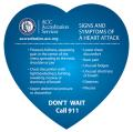 Heart Shaped Signs & Symptoms of a Heart Attack Magnet