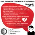 Signs & Symptoms of a Heart Attack in Women Magnet