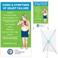 Signs & Symptoms of Heart Failure, Mini X Banner