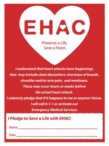 EHAC Pledge Card
