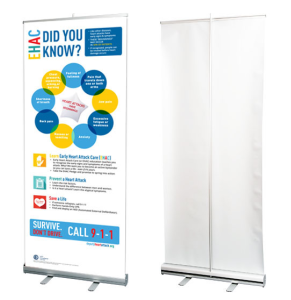EHAC Retractable Banner